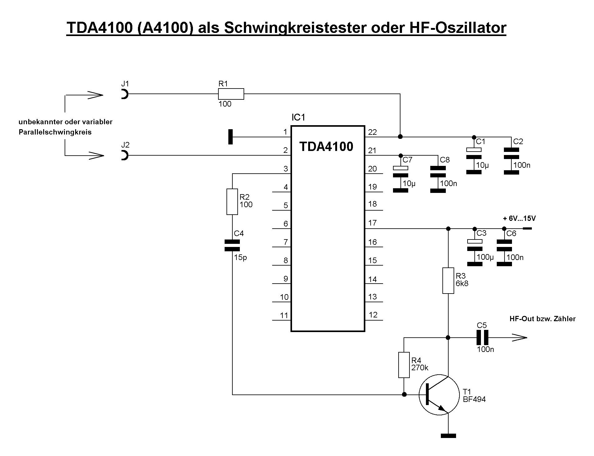 Treffpunkt der Interessengemeinschaft :: Thema anzeigen - TDA4100 ...