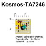 AM-Radio Modul für Kosmos Electronic Profi, Layout
